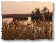 Il fiume attraversa la Laguna di Caorle