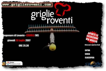 Sito Internet di Griglie Roventi - Campionato Barbeque