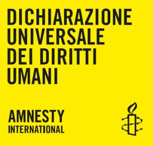 dichiarazione diritti umani, AMNESTY INTERNATIONAL