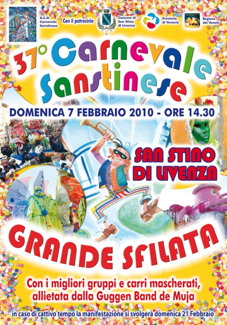 Carnevale 2010 a San Stino di Livenza, Venezia