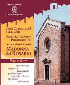 Festa del Rosario in Borgo San Giovanni a Portogruaro, Venezia