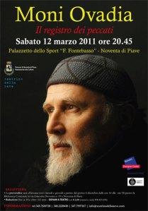 Moni Ovadia, 12 marzo 2011 a Noventa di Piave, Teatro della Neve