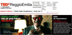 TEDxReggioEmilia, idee che meritano di essere diffuse, conferenze brevi
